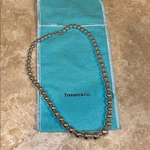 Tiffany & Co Bead Ball Necklace